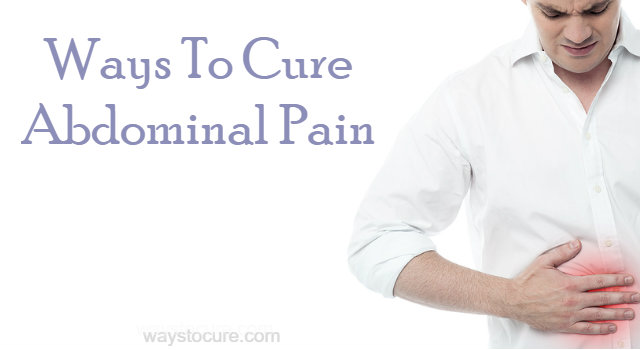Natural Ways To Cure A Stomach Ache