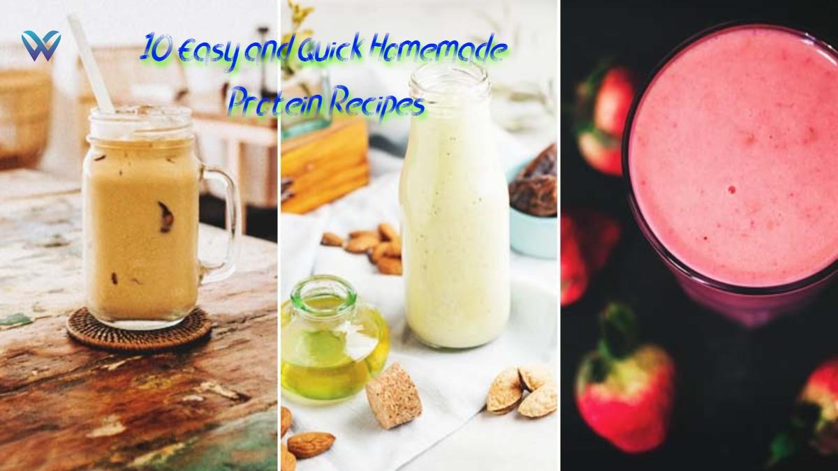 Homemade Protein Recipes
